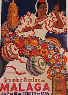 Feria de Malaga 1954