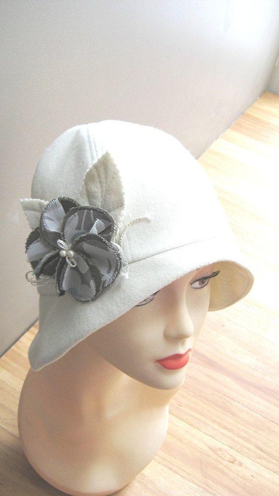 Cloche hat sewing pattern -medium - Roaring 20s flapper Cloche ...