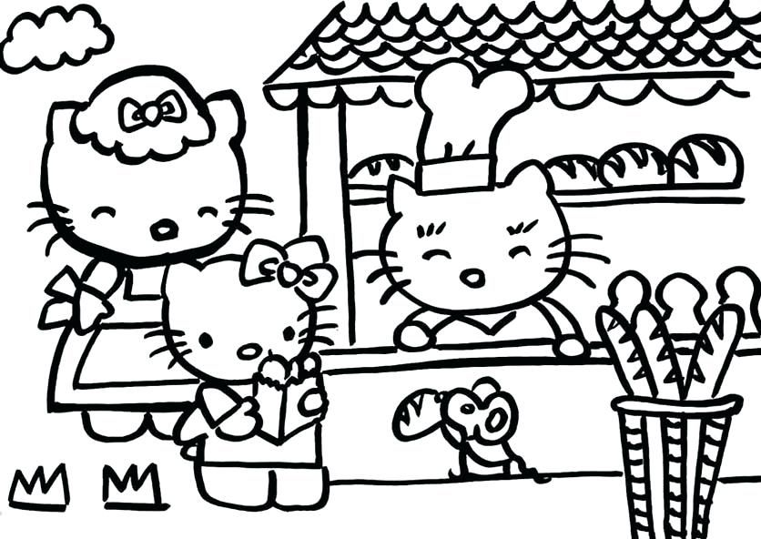 hello kitty malvorlagen  hello kit colorir desenhos
