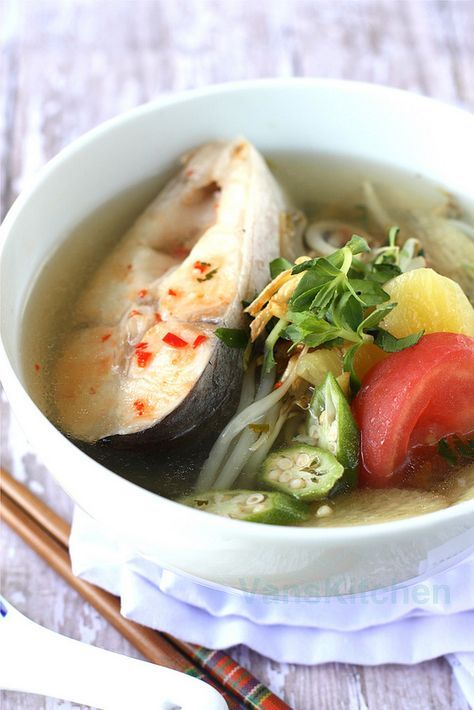 Vietnamesische Küche Rezepte   Vietnamese Sweet And Sour Soup This Was So Good Could Only Find