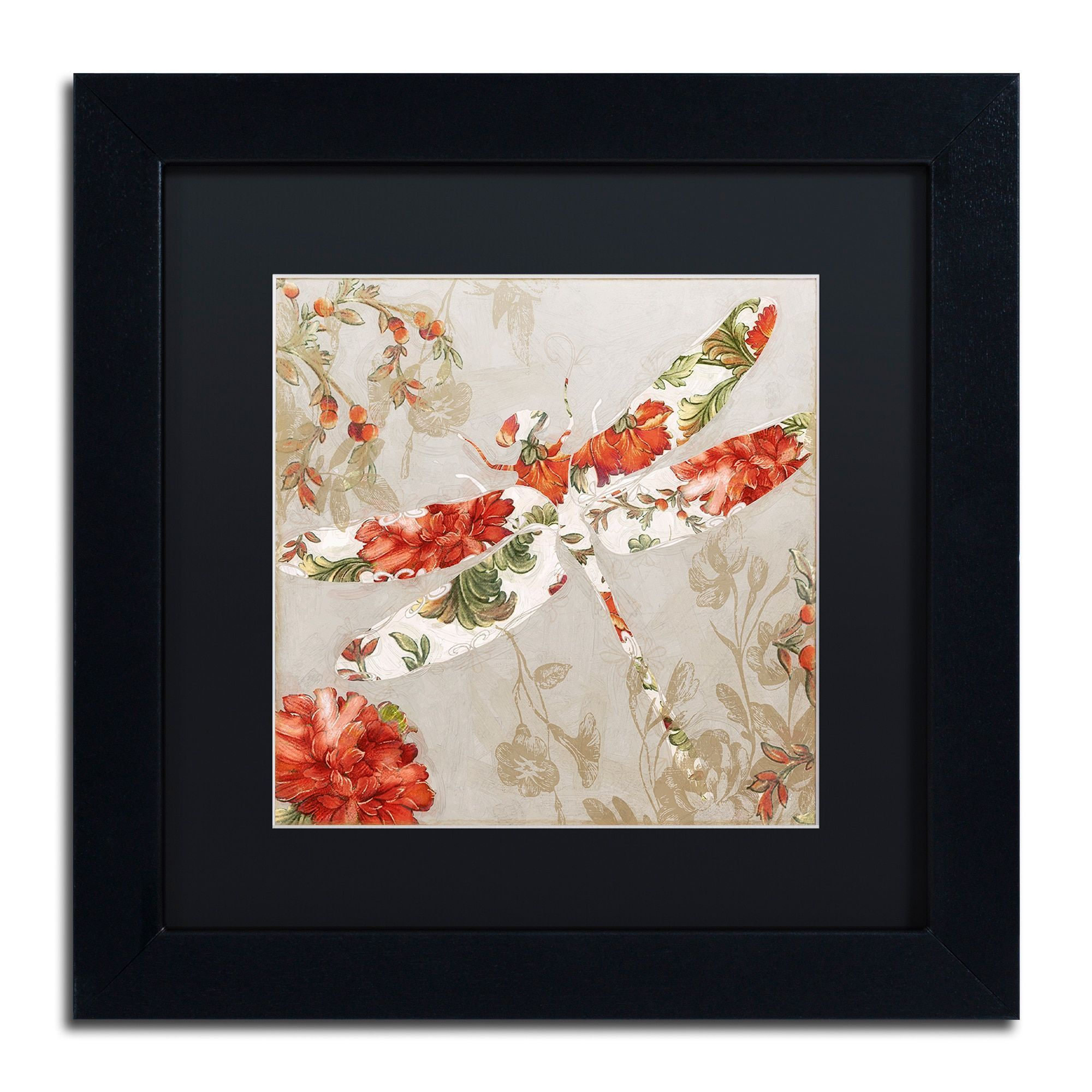 Trademark Fine Art Winged Tapestry Iii Canvas Art By Color
