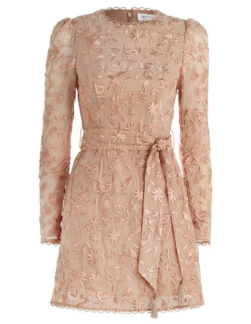 Zuhair Murad Woman Lace-trimmed Paneled Silk And Cotton-blend Voile And Crepe Mini Dress Burgundy Size 38 Zuhair Murad UwfLi