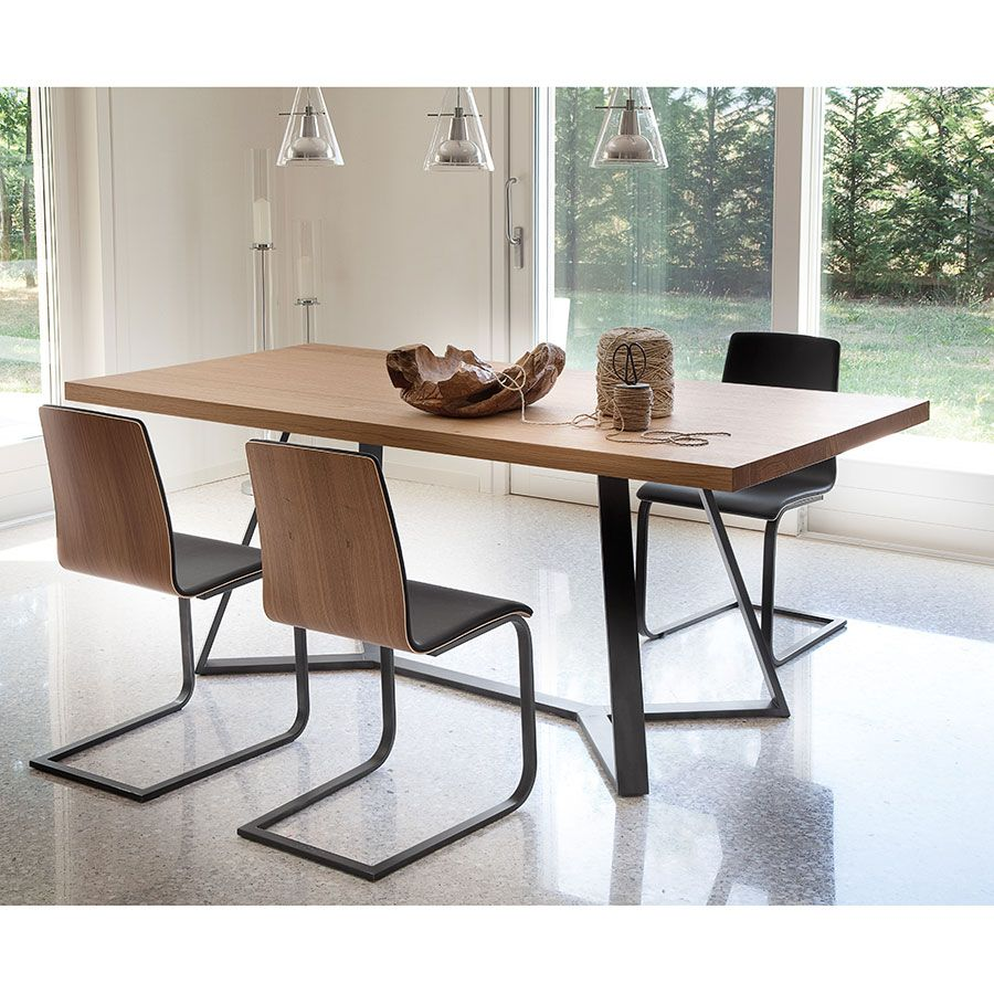 Archie 200 Dining Table Walnut Dining Table Design