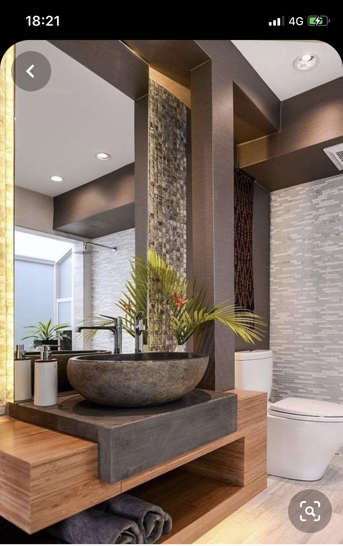 Pin By Marijana Mesic On Guest Bathroom Gorgeous Bathroom Designs Bathroom Design Decor Bathroom Interior Design Tiny home interior guest bathroom