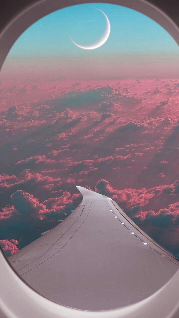 Passenger Plane Window View Iphone Wallpaper Summer Wallpapers