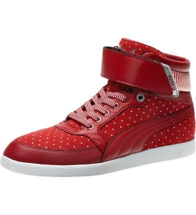 235147546227 Skylaa Hi Polka Dot Women s Sneakers  puma  fashion  women  shoes  75.00