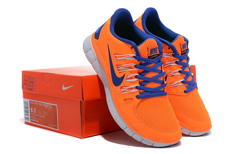 huge selection of b6801 54dda Herren Nike Free Run 5.0 Schuhe Orange Blue