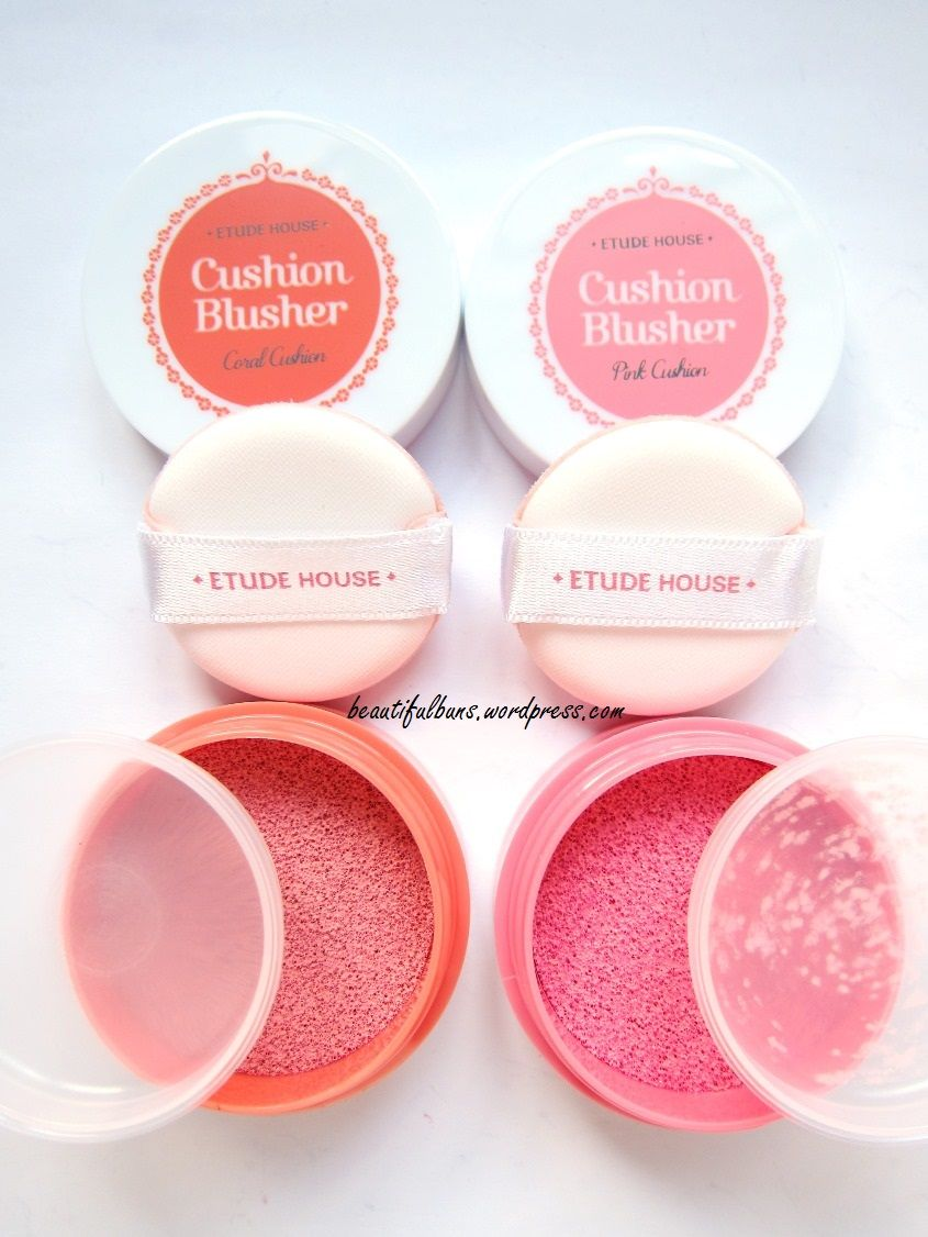 Review Etude House Cushion Blusher Swatches Wish List