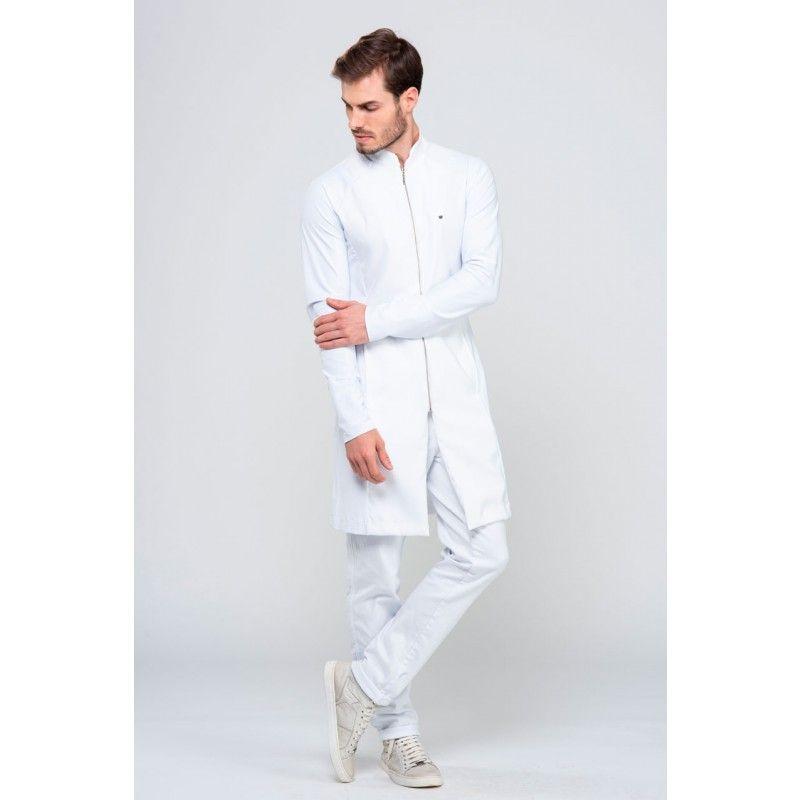 4a0bd523f Jaleco Veneto Masculino - Branco em 2019 | Jaleco | Scrubs outfit ...