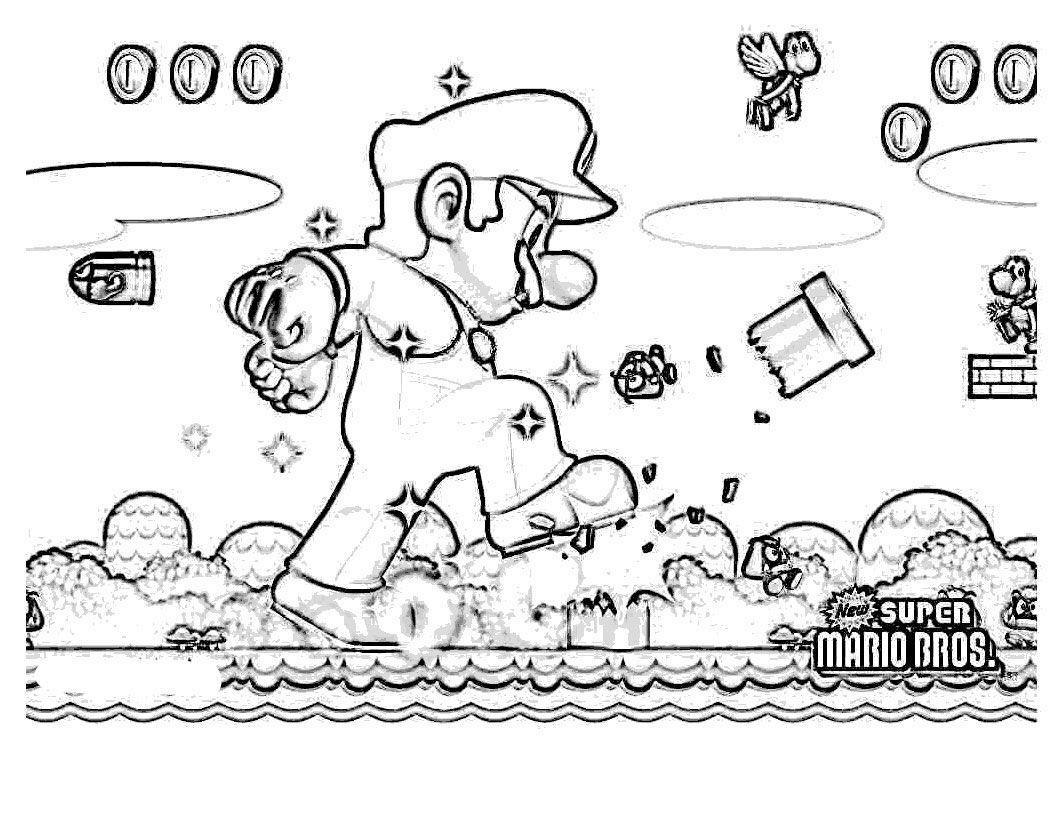 Mariogigante | Mario Bros Color | Pinterest