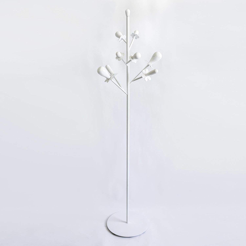 Appendiabiti Da Terra Bianco.Arti E Mestieri Appendiabiti Da Terra Spring Bianco Amazon It Casa