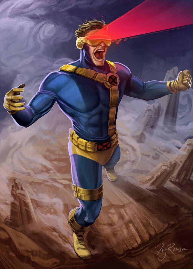 Cyclops By Tyromsa Cyclops X Men Cyclops Marvel Wolverine Marvel
