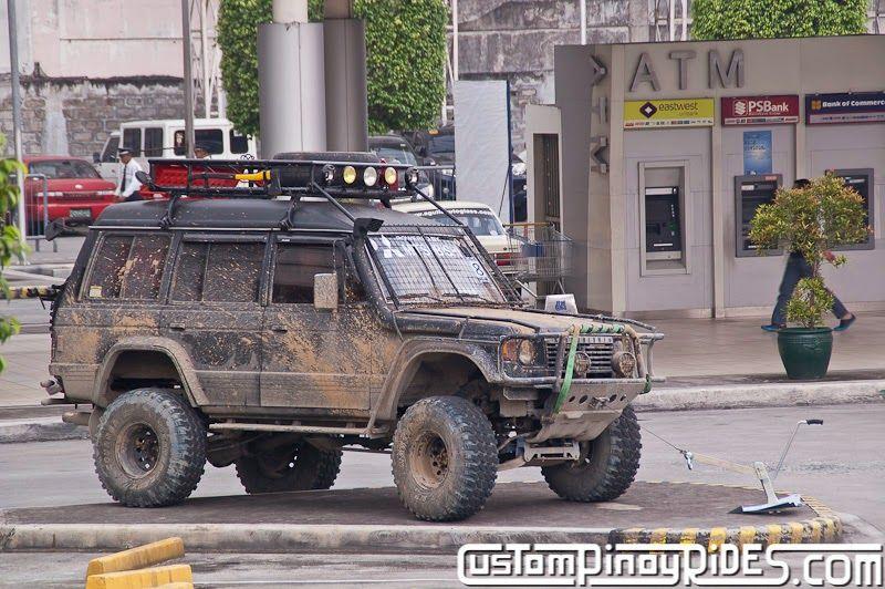 1st Gen Pajero 4Door Mud Monster Mitsubishi pajero