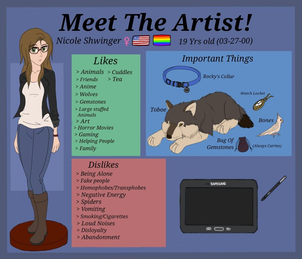 All about Nicole Shwinger Friend anime, Meet the artist