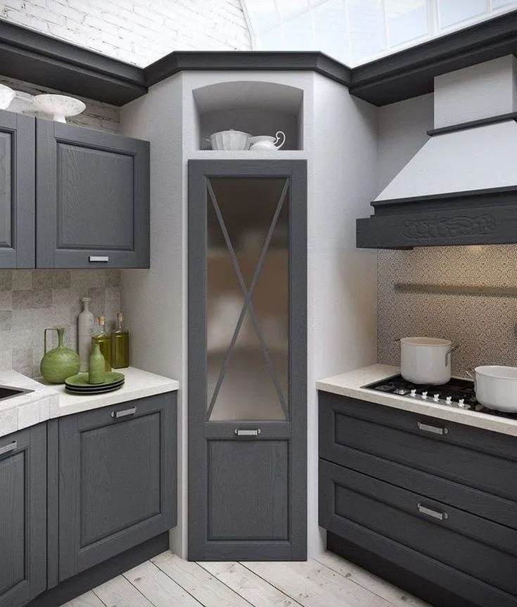 Unique Beautiful A Guide To Efficient Small Kitchen Design For Apartment 15 Kitchen Design Small Kitchen Remodel Small Pantry Design