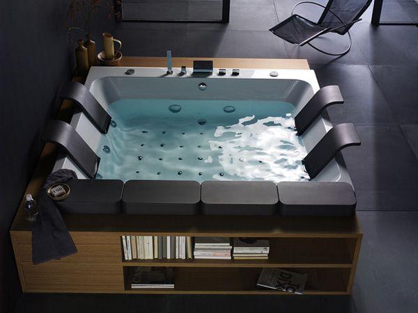Vasca Da Bagno Blu Bleu : Vasca idromassaggio thais art di blubleu design bullo design