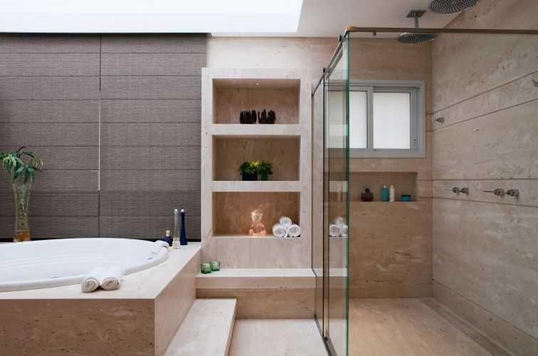 Banheiros modernos 3 estilo contempor neo pinterest for Estilo moderno contemporaneo