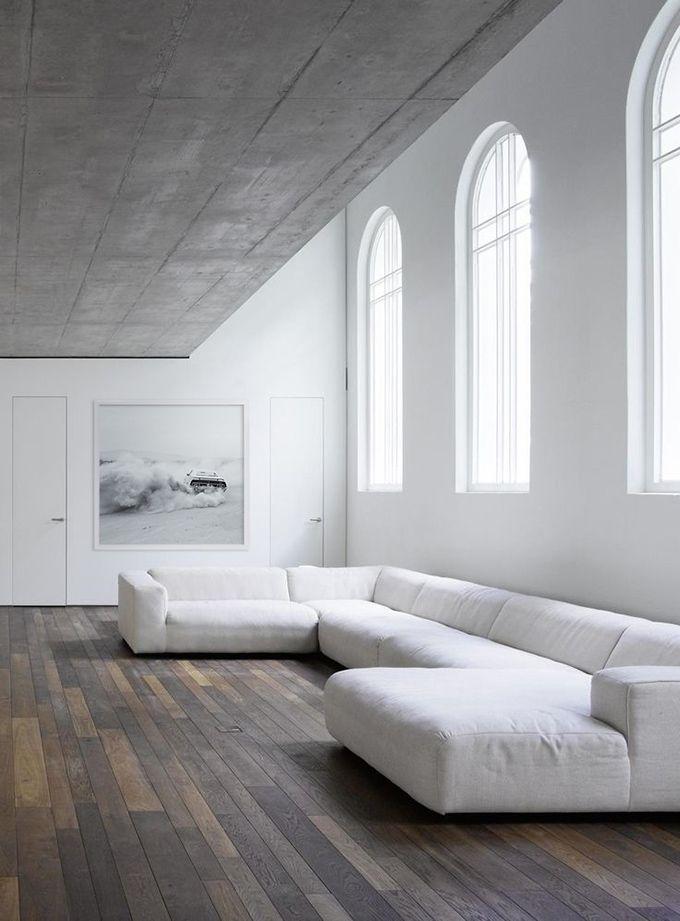 300 Year Old House Renovation In Tel Aviv Israel White Sofa Design Sofa Design Interior
