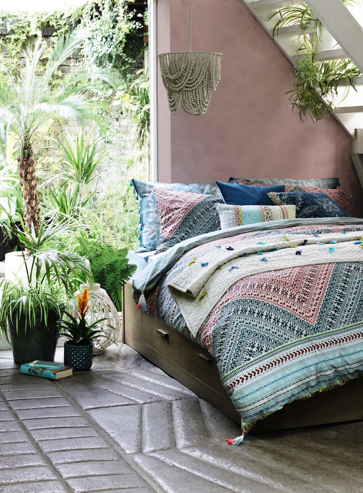 Style tip turn your bedroom into an exotic hideaway with layered