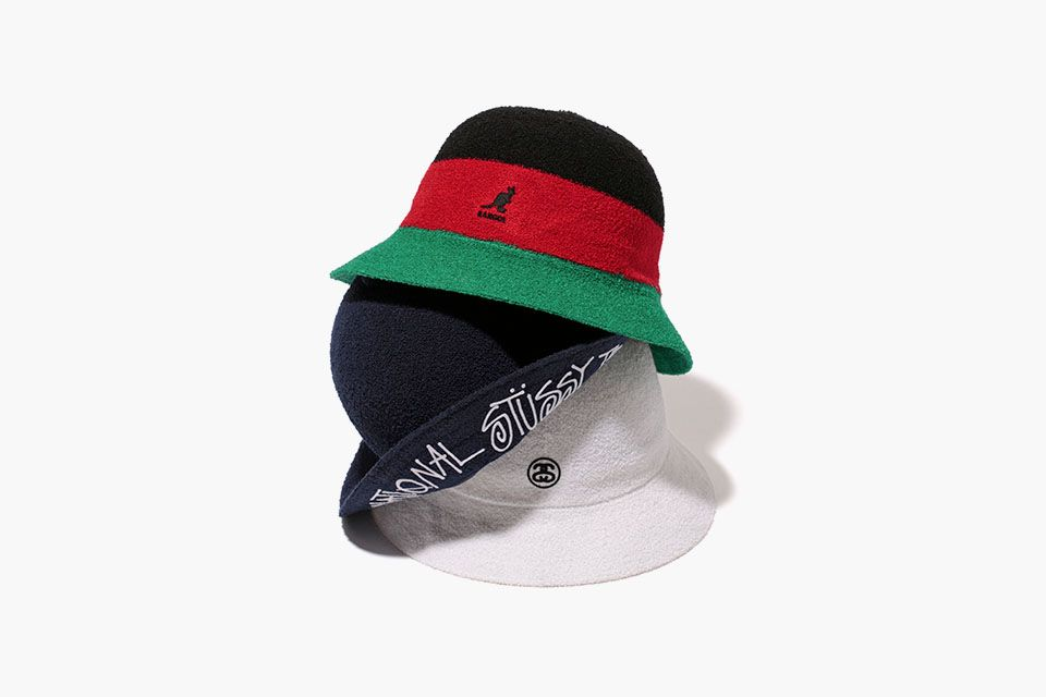 ceb864dfb98 tussy s Japanese arm have teamed up with the the legendary Kangol ...