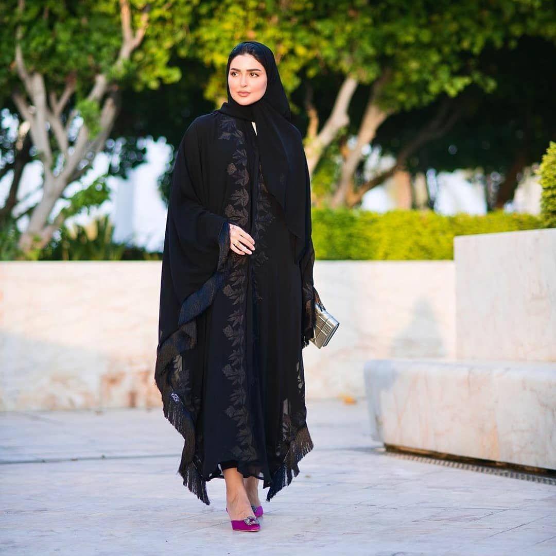Repost Haneenalsaify Lusail Marina Lusail City You Are Unique Joyacouture Subhanabayas Abaya Abayas Ope Abayas Fashion Fashion Abaya Designs