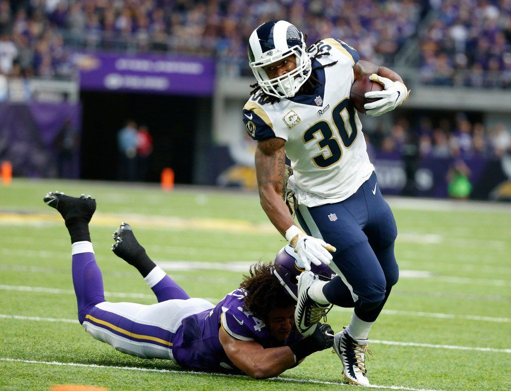Fantasy Football Predictions For Quarterback Todd Gurley In The Rams Vs Saints Sunday Nfl Game Fantasy Football Football Todd Gurley