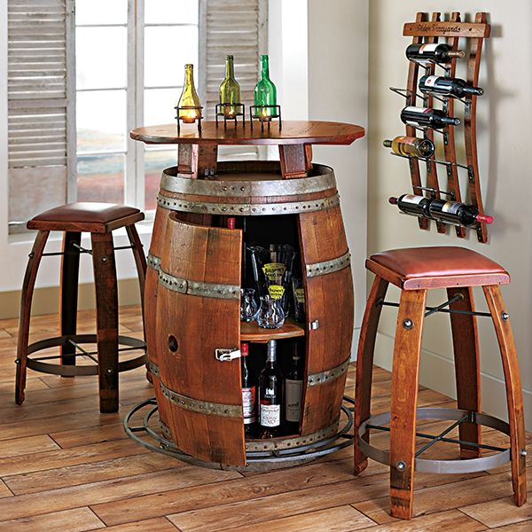 2013 Gift Guide Entertainer The Menu Wine Storage Wines Barrel