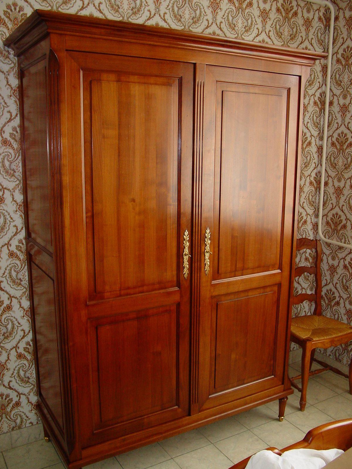 Antique Armoire Bedroom