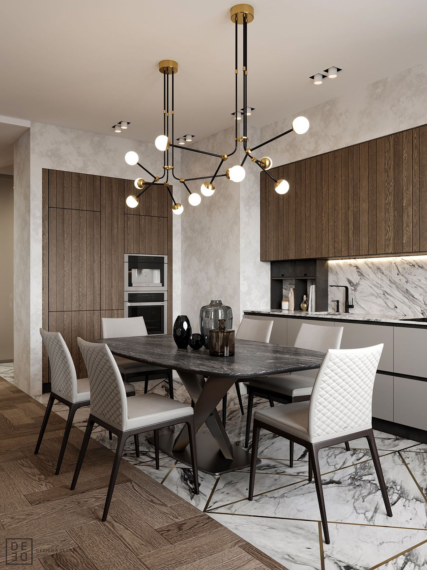 Sophisticated Dining Room Ideas For Your Home Design: DE&DE/Interior With Sophisticated Nature On Behance