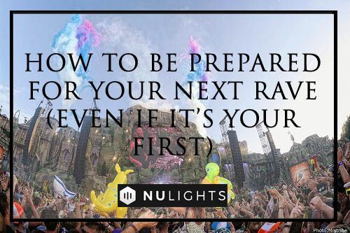 It's your first rave party and even though you've heard so much about it, you're still not exactly sure how to prepare…