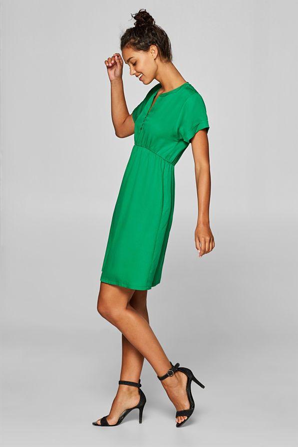 Esprit - Web-Kleid mit schwingendem Rock im Online Shop ...