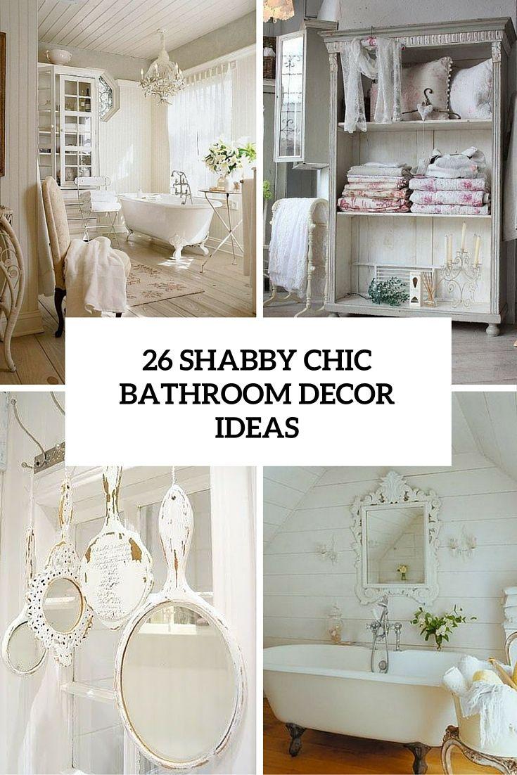Cottage chic bathroom decor #vintageunscripted | Bad ...