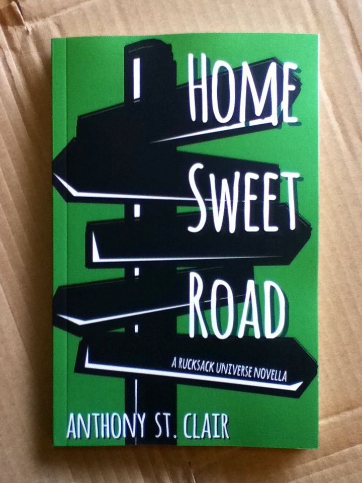 Hello, sexy! My proof of Home Sweet Road just arrived!
