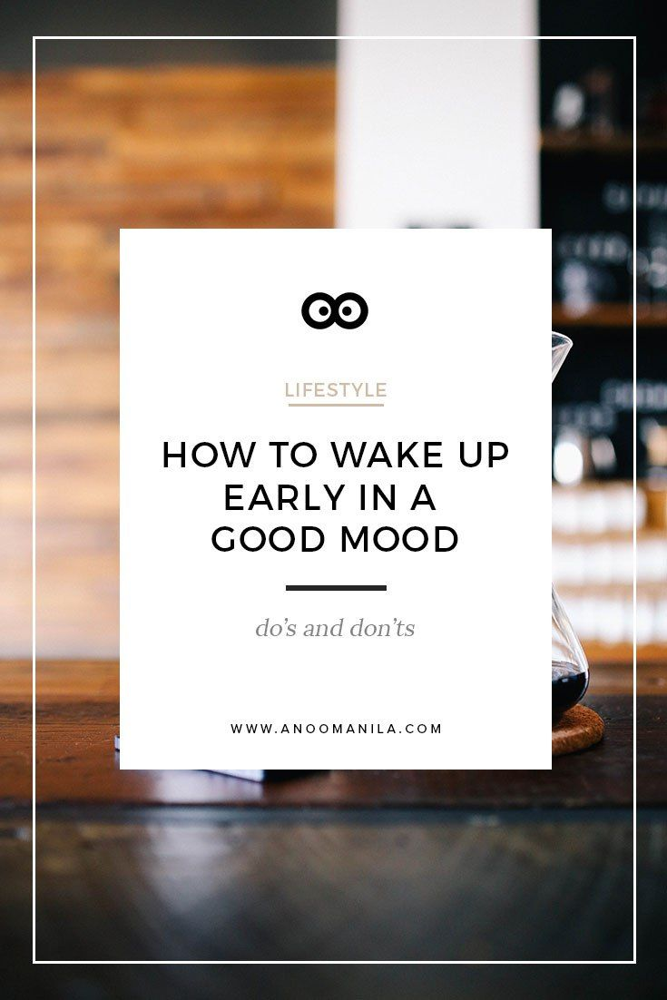 how to wake up early in a good mood