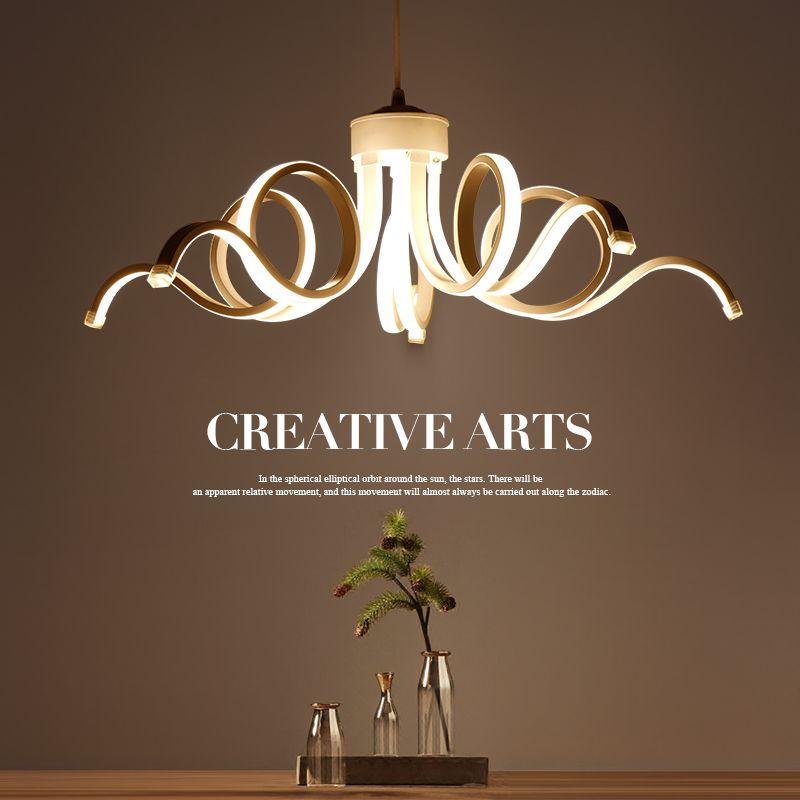 Led Modern Pendant Lights Lamp For Living Room Bedroom Lamparas - lamparas de techo modernas