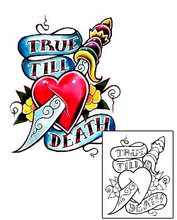 Traditional Tattoos DFF-00319 Created by Damien Friesz