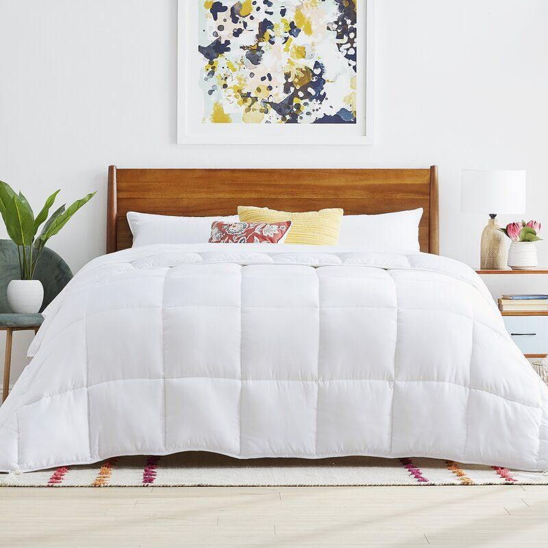 Lucid Down Alternative Comforter Hypoallergenic All Season 400 Gsm Ultra Soft And Cozy 8 Duvet Loops Comforter Sets Duvet Comforters Down Comforters