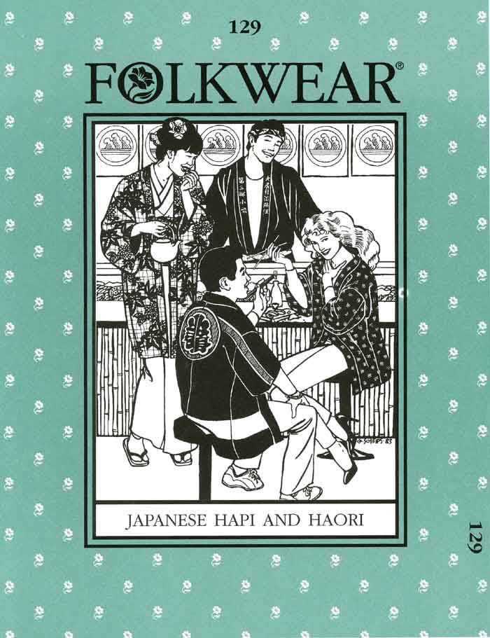 Patterns - Folkwear #129 Japanese Hapi & Haori | Folkwear | Pinterest