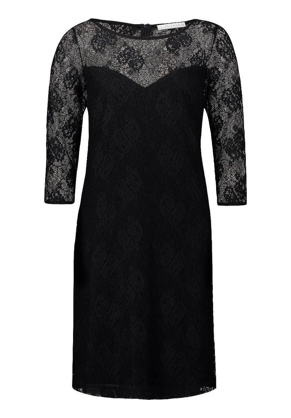 Betty&Co Spitzenkleid tailliert Silvester Outfit #silvesteroutfitdamen