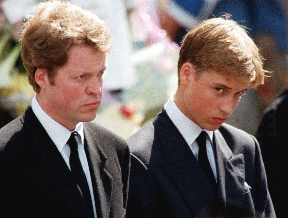 Princess Diana Funeral Photos 30 Unforgettable Moments At The Funeral Of Princess Diana