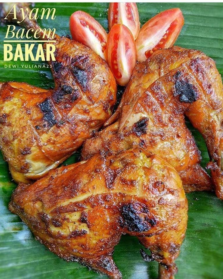 Resep Ayam Bacem Bakar Resep Ayam Resep Masakan Resep