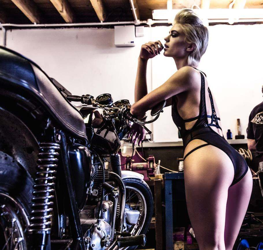 from Nash naked chicks washing bikes
