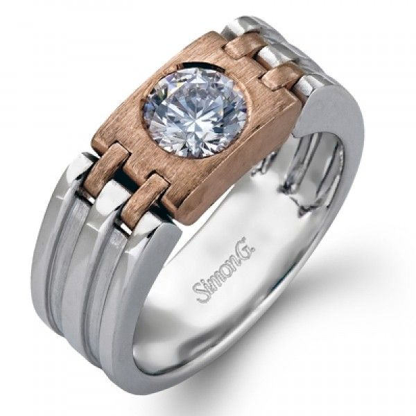 Simon G MR2355 Men's Wedding Ring- Genesis Diamonds