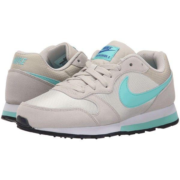 Womens Shoes Nike MD Runner 2 Light Bone/Racer Blue/White/Hyper Turquoise