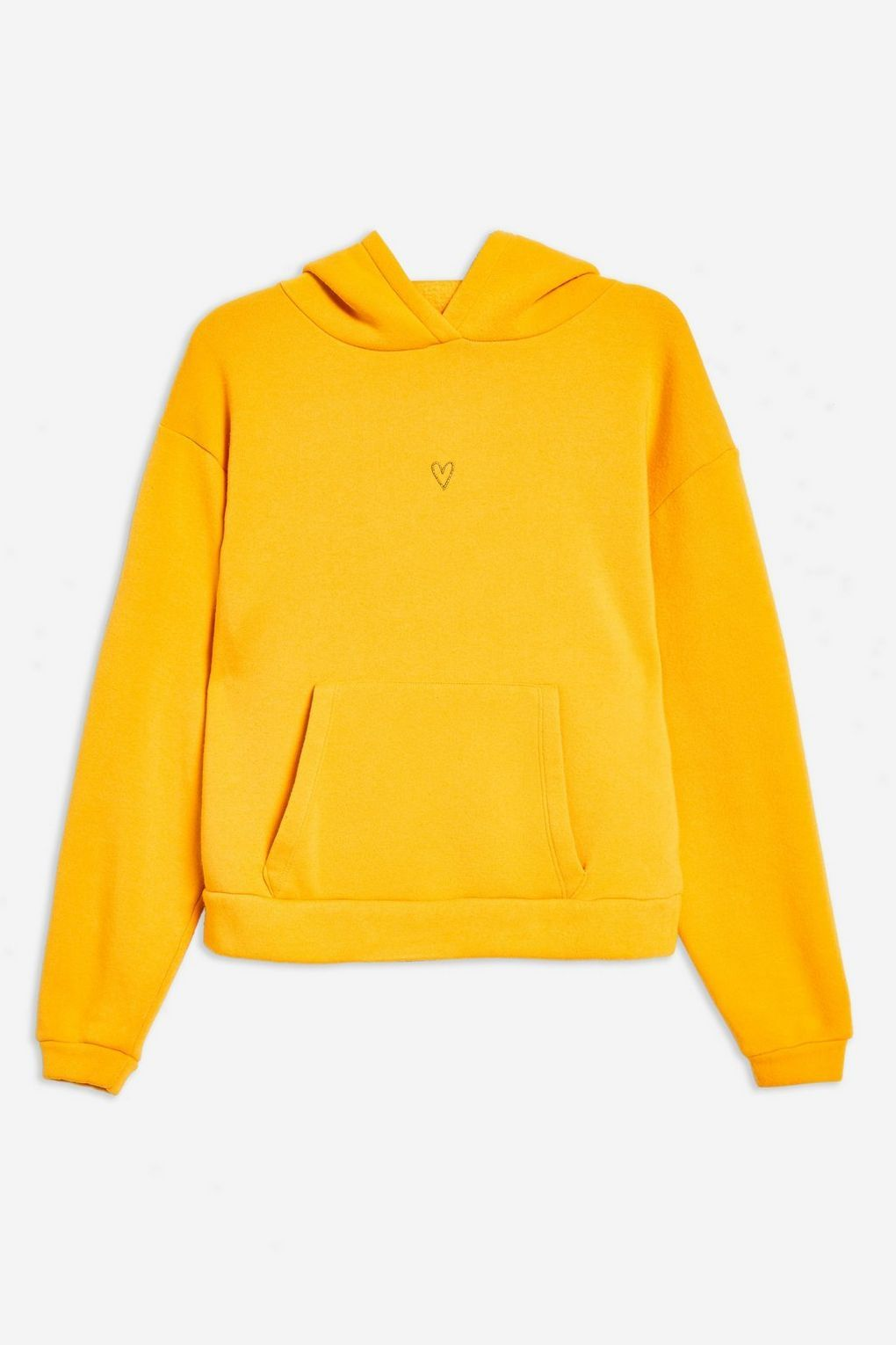 e7094122a7a Yellow Heart Hoodie - New In Fashion - New In - Topshop USA