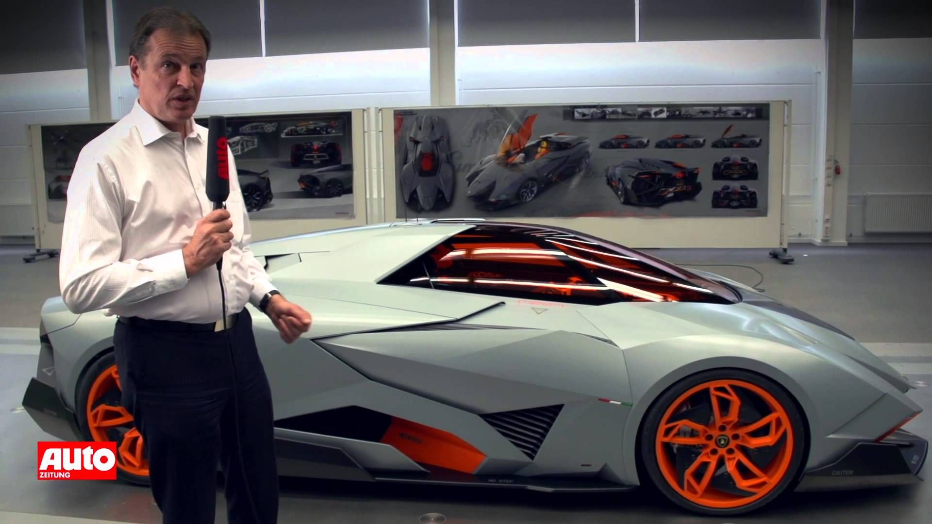 Lamborghini Egoista 2013 Concept Car Im Stealth Fighter Design