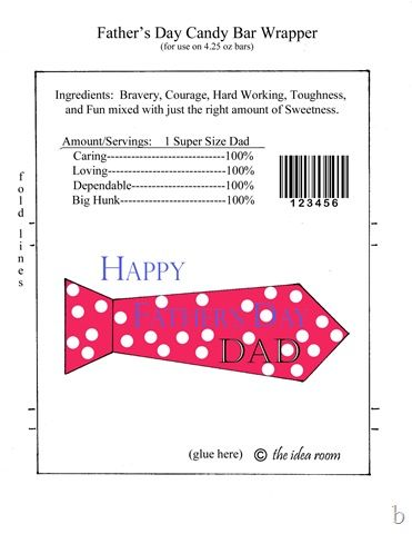 Father\'s Day Gift- Hershey Candy Bar Wrappers | Pinterest | Candy ...