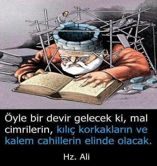 Hz Ali Radiyallahu Anh Kilic Kalem 15temmuz Gezi Geziparki Terorist Adliye Ingiliz Sozcu Meclis Miletveki Guzel Soz Ozlu Sozler Ilham Verici Sozler