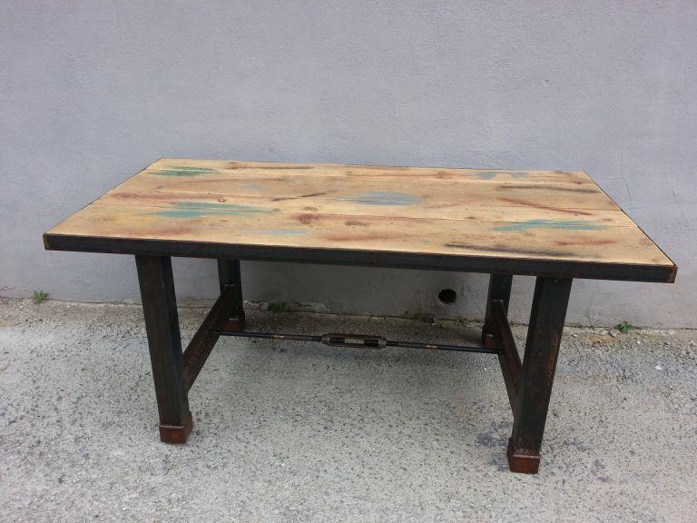 progetto tavolo in legno - Cerca con Google | Tavoli | Pinterest ...