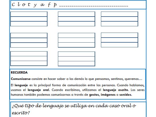 Ejercicios de lengua para Tercero de Primaria   Lengua, Ejercicios y ...